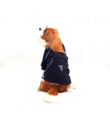 Polar firmowy dla psa granat/ błękit