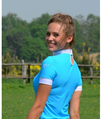 COMPETITION SHIRT BASIC BLUE