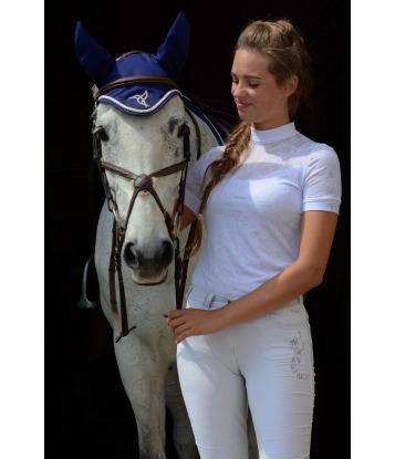 Biała koszula koronkowa