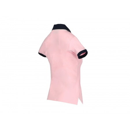 Koszulka polo light pink