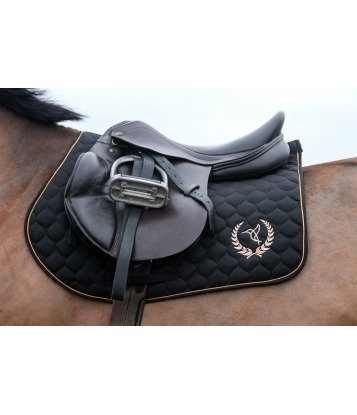 Saddle pad Black&Gold