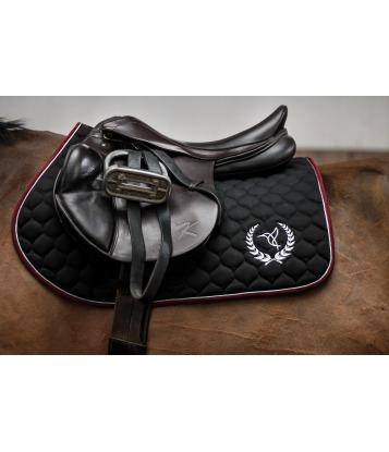 Saddle pad Claret