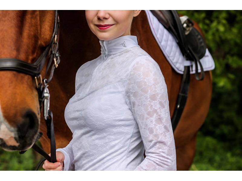 Koszula konkursowa z długim rękawem Full Lace