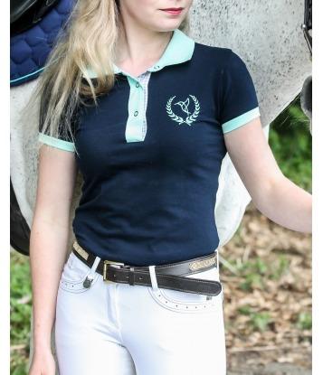 Koszulka Polo Navy&Mint