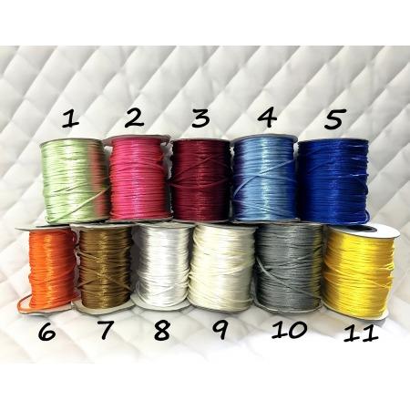 Nauszniki personalizowane długie z cienkim sznureczkiem