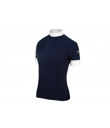 COMPETITION SHIRT BASIC DARK BLUE