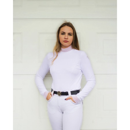 copy of COMPETITION SHIRT BASIC WITH LONG SLEEVES IN WHITE