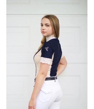 Koszula konkursowa Navy&Cream