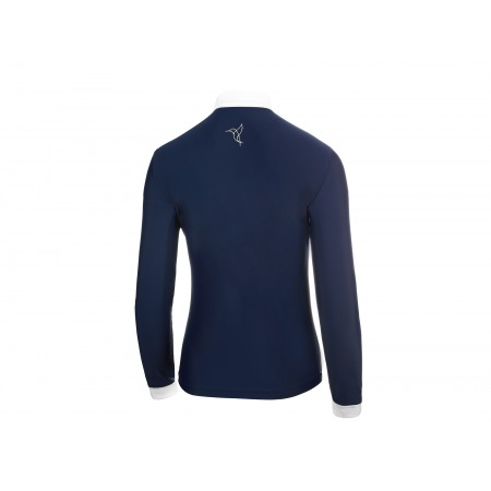 COMPETITION SHIRT BASIC WITH LONG SLEEVES IN DARK BLUE
