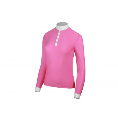 COMPETITION SHIRT BASIC WITH LONG SLEEVES IN PINK