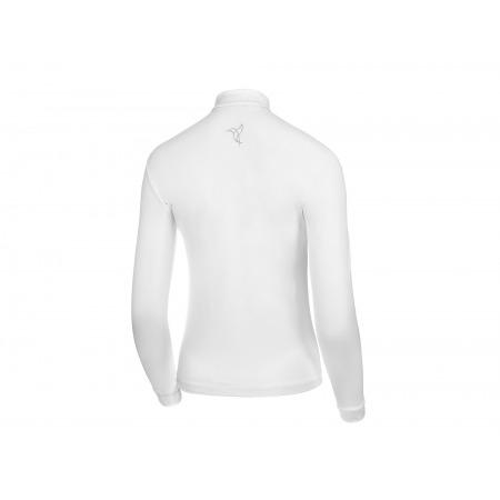 Koszula konkursowa basic z długim rękawem biała