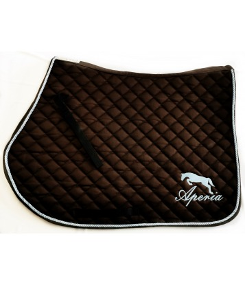 copy of Saddle pad Cherry&Gold