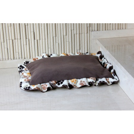 Poduszka dla psa mała ecru