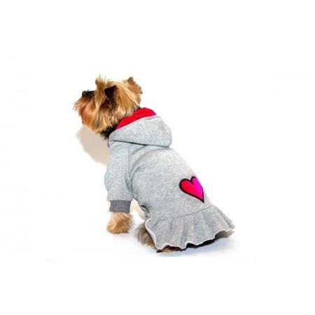 Sukienka dla psa szara